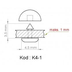 K4-1 = 4.5mm x 3.5mm