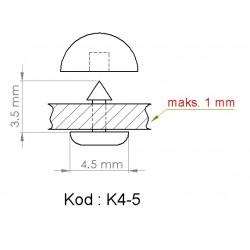 K4-5 = 4.5mm x 3.5mm