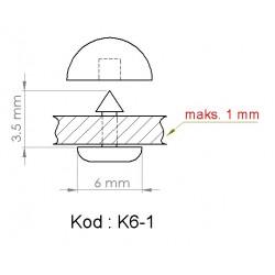 K6-1 = 6mm x 3.5mm